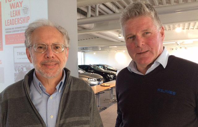 Jeffrey Liker och Einar Gudmundsson.
