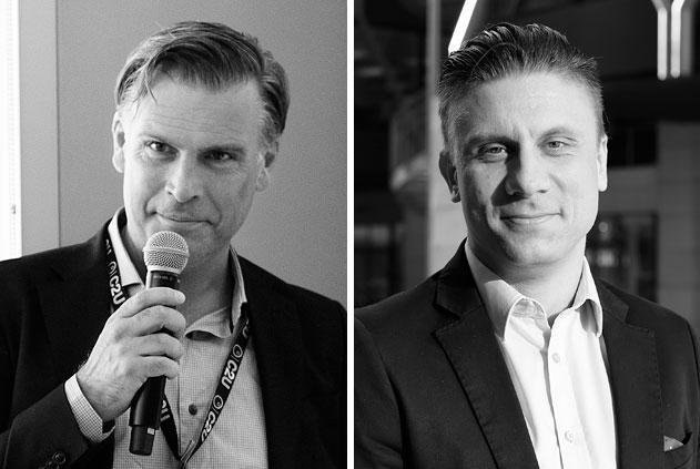 Jonas Pettersson och Stian Henriksen