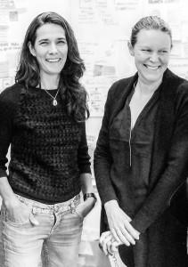 Eva Flock Lindahl och Anette Olovborn från Transformator Design leder workshopen i Service Design.