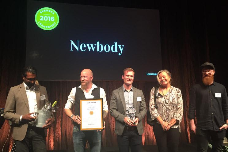 Newbody tog hem Svenska Leanpriset 2016.