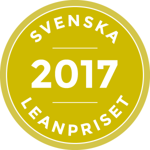 Svenska Leanpriset logo 2017