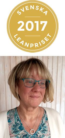 – Vi är otroligt stolta och glada över nomineringen till Svenska Leanpriset. Framgångsfaktorer i vår leanresa menar vi är tillit, engagerade medarbetare och modiga chefer, säger Anna Wåhlin från Sundsvalls kommun.