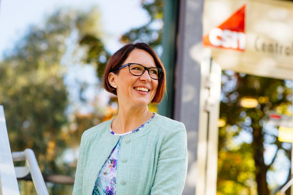 Christina Forsberg, generaldirektör för CSN, kommer till Lean Forum 2017.