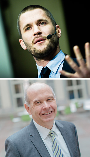 Niklas Modig och Pär Åhlström
