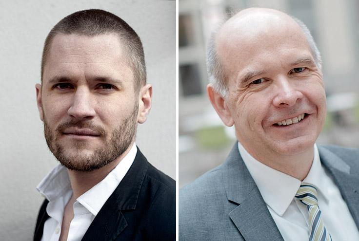Niklas Modig och Pär Åhlström.